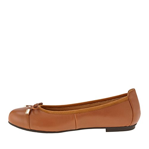 Womens Tan Shoes Pelle nbsp;Minna VIONIC 359 zqvwBdnR