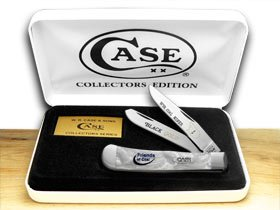 CASE XX Collector's Friends of of of Coal West Virginia Weiß Pearl Trapper 1 600 Pocket Knife Knives B00MPWFXQ2     | Bekannt für seine schöne Qualität