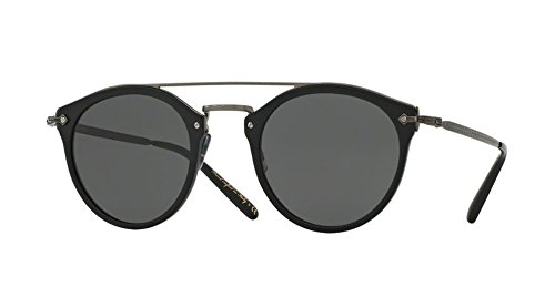 Oliver Peoples - Remick - 5349 50 - Sunglasses (SEMI MATTE BLACK, - Peoples Oliver Remick