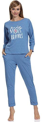 Blu Merry Style 1196 2a Pigiama Donna 11I6Rq