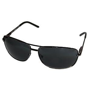 Kenneth Cole Reaction Kcr1076-0731 Men's Aviator Gunmetal Sunglasses