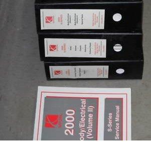 Service Shop Repair Manual Oem (3 volume set..) ()