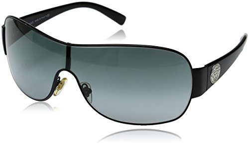 Versace VE2101 Sunglasses Color 100987 Black/Gray by Versace