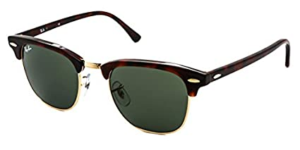 e046b2e8a26e9 Image Unavailable. Image not available for. Color  RB3016 W0366 49-21mm  Clubmaster Sunglasses
