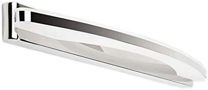 HENGMEI LED Spiegellampe Wandleuchte Spiegelleuchte Acryl Schrankleuchte Schminkleuchte Badleuchte IP44 für Badezimmer (12W Kaltweiß)