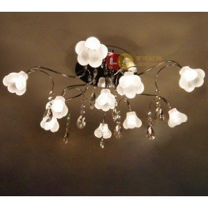 Crystal Ceiling Lights Living Room Bedroom Pendant