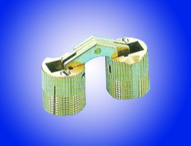 10mm Cylinder Hinge in Brass - 4 Pack