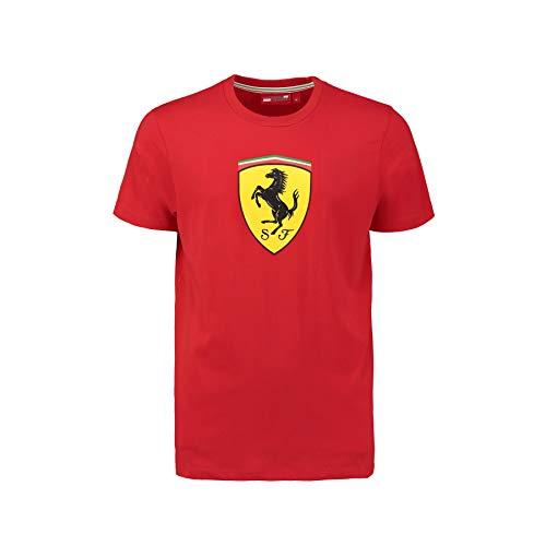 - Ferrari Red Shield Classic Tee Shirt (XLG)