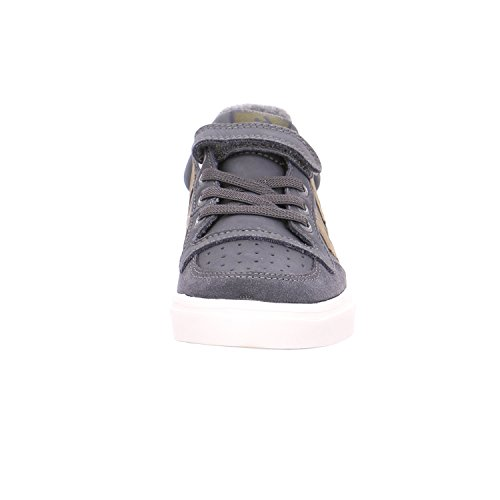 Hummel Stadil oiled low sneaker jr - dark shadow Dark Shadow