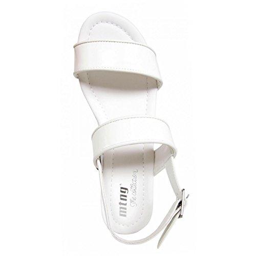 Sandalias de Mujer MTNG 51853 PATY BLANCO-BLANCO