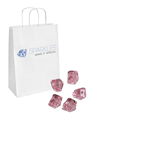 Sparkles Make It Special 1 Pound Bag of Acrylic Ice Rock Table Scatter Vase Filler Pink by Sparkles Make It Special