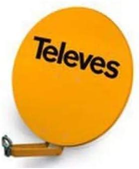 Televes 790304 - Antena parabolica off-set aluminio disco 950 blanco