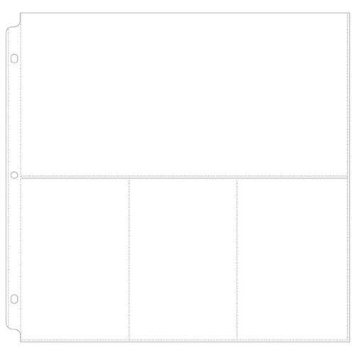 We R Memory Keepers Ring Photo Sleeve Protectors 12-Inch by 12-Inch 10/ Pack 404255