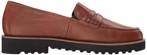 Paul Cognac Green Women's Loafer Leather On Kianna Slip rfrC6wq