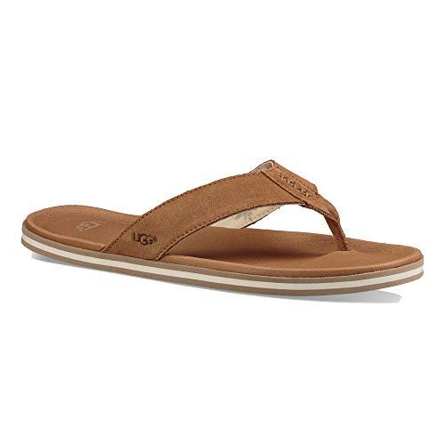 Sandali Castano Marrone Infradito Shoes Uomo Beach Chiaro Ugg qvEFW8B