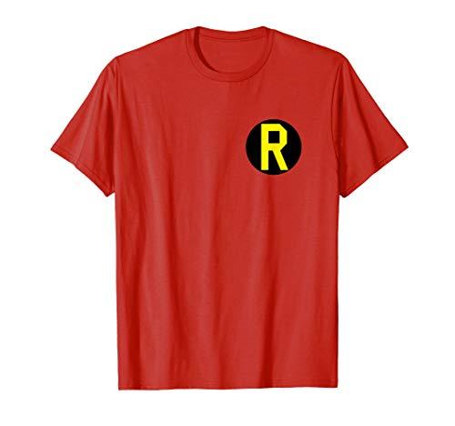 Batman Robin Left Chest Logo T Shirt]()