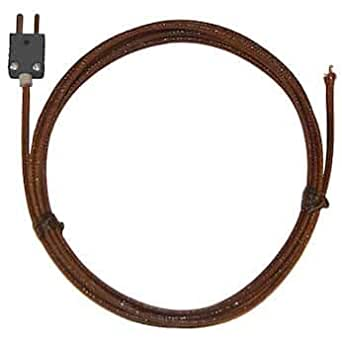 Grounded Junction Type J Length 18 Temprel AT21SG-18J-DS-Z Thermocouple Probe Molded On Standard-Plug Sheath: 0.188 /& 304 SS