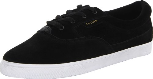 Fallen Men's Carlin Skate Shoe,Black/White,11.5 M US