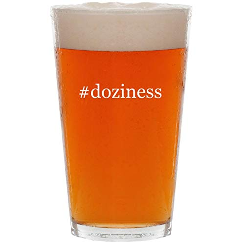 (#doziness - 16oz Hashtag Pint Beer Glass)
