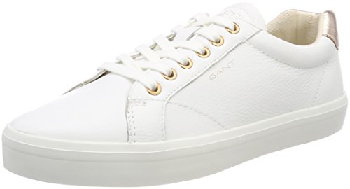 Femme Bright Gant Mary Rose Gold Gant Wht Femme Wht Bright Weiß Baskets Weiß Baskets Rose Mary w7awA