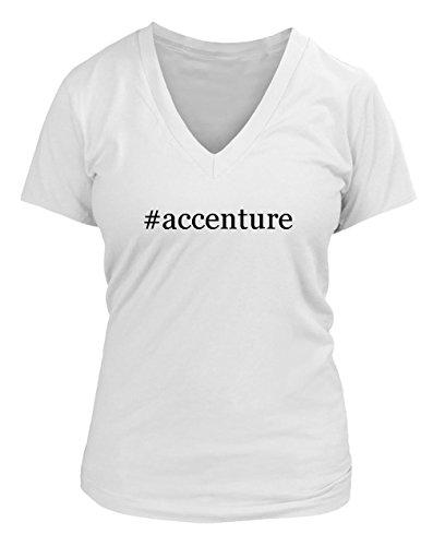 accenture-hashtag-juniors-cut-womens-v-neck-t-shirt-various-sizes-colors-white-xx-large