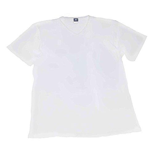 Taglie A 3 500 Uomo Intimo V Maxfort Maglia Bianco Scollo Forti T shirt Pezzi wRIZg