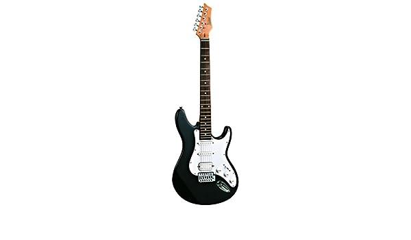 ASHTON AG232BK guitarra eléctrica Negro: Amazon.es: Instrumentos musicales