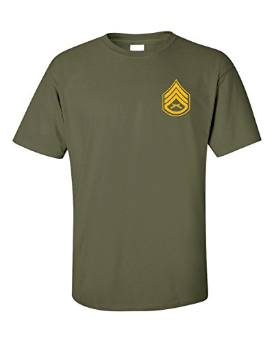 US Marine Corps Staff Sergeant T-Shirt (2X-Large, Military Green) (Marine Corps Staff Sergeant)