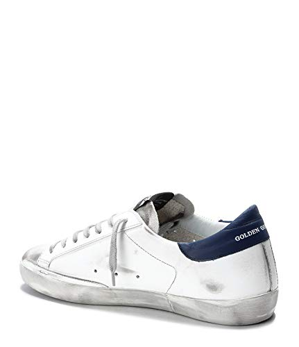 Pelle Sneakers Goose Uomo Golden G34ms590n13 Bianco 5RwvzccYq