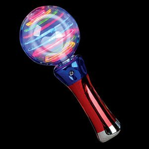 LED Magic Flashing Ball Wand - 1 piece by (Led Flashing Ball)