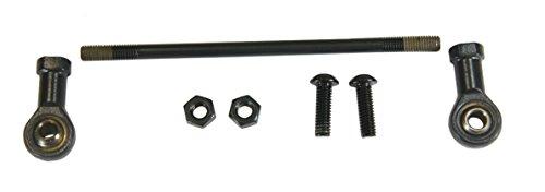 Raider, KIT-6050B-H, Black Shift Rod Linkage Kit for Forward Controls 2004-2013 Harley XL Sportster - Rod Shift Control Forward