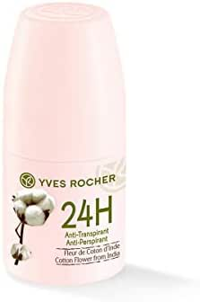 Yves Rocher Indian Cotton Flower Soft Deodorant Roll on 50ml