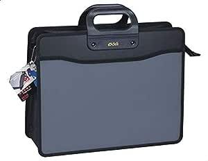 Deli Handle Case and Documents Bag - Grey Black