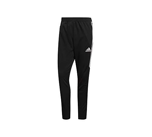adidas Men's Soccer Tiro 17 Pants, Large, Black/White/White from adidas