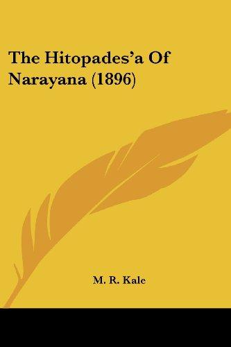 The Hitopades'a Of Narayana (1896)