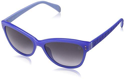 de Blue Periwinkle Sol Gafas Tous Mujer para Shiny H50wxn1Bq