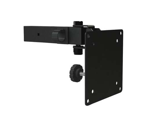 Small Flat Panel Ceiling Mount - Dual Flat Panel Ceiling Mount Adaptor, Small, Black