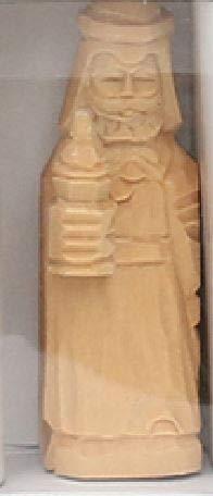 5,5 cm 4er Set Dekohelden24 Cr/èche en Bois avec Menu d/éroulant