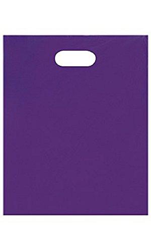 Medium Low DensityPurple Merchandise Bags - Case of 1,000 by STORE001