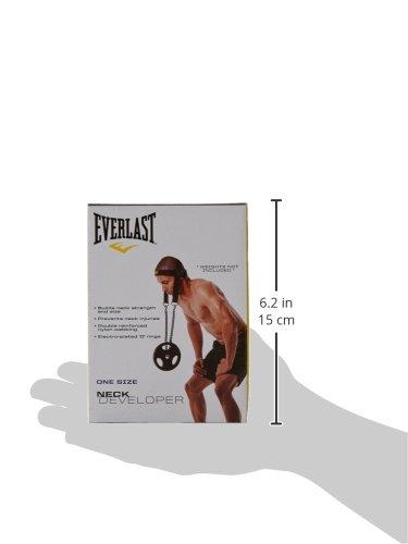 Everlast Nylon Neck Developer Fitness Accessory Black