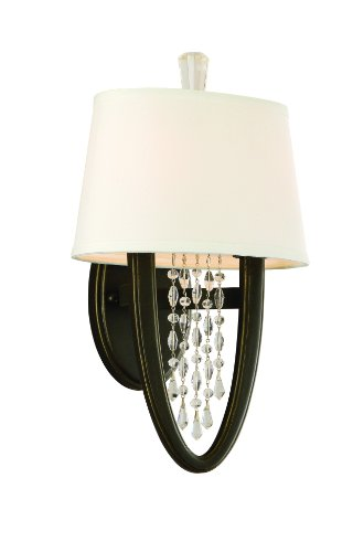 - Corbett Lighting 130-12 Viceroy Two Light Wall Sconce in Royal Bronze