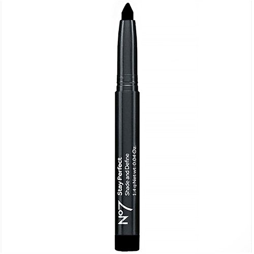 Boots No7 Stay Perfect Shade & Define, Black Shimmer 0.04 oz (1.4 g)
