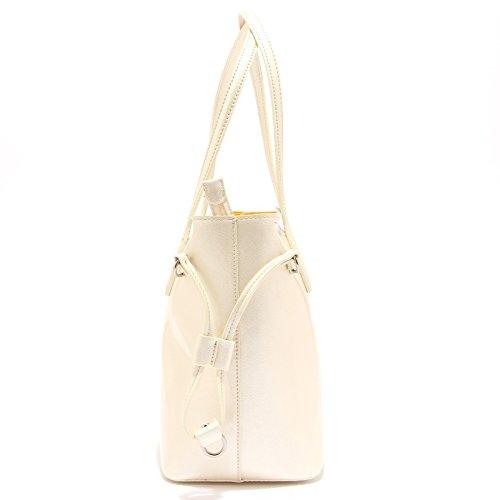 bag donna Avorio GAUDI' woman lucida 3651T avorio hand borsa BAYLEE 0TzqwqU5