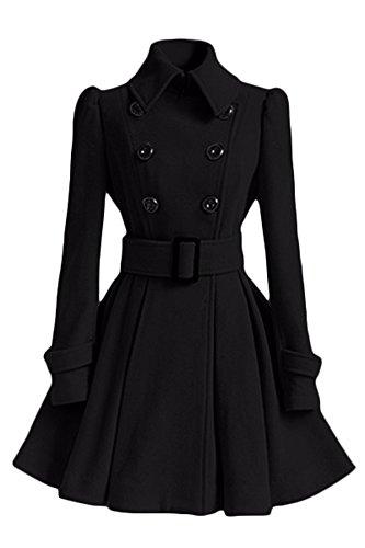 Manteau Noir All 5 5 Femme All Hw40tqUn