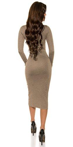 In-Stylefashion - Vestido - para mujer pardo
