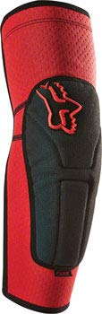Fox Racing Launch Enduro Adult Elbow Guard Motox Motorcycle Body Armor - Red/Large