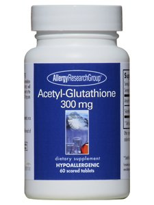 Allergy Research Group- Acetyl Glutathione 300 mg 60 tabs by Allergy Research Group