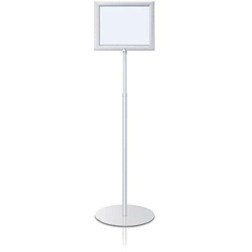 Perfex Pedestal Frames Color: Matte Black, Orientation: Horizontal, Holds Graphic Size: 8.5