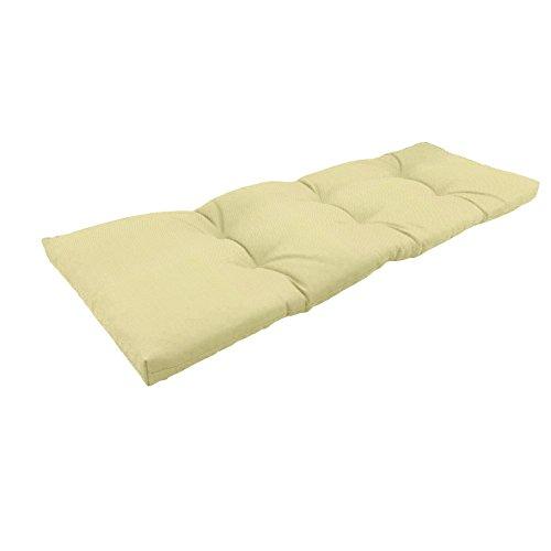 Amazon Custom Furnishings x Easy Way Products 20349 Custom Tufted Knife Edge Bench Cushion, 44