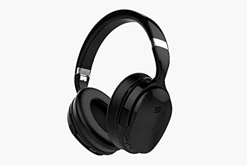 Volkano Silenco Wireless Bluetooth Noise Cancelling On-Ear Headphones - Black